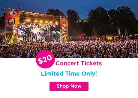 $20 Concert TIckets