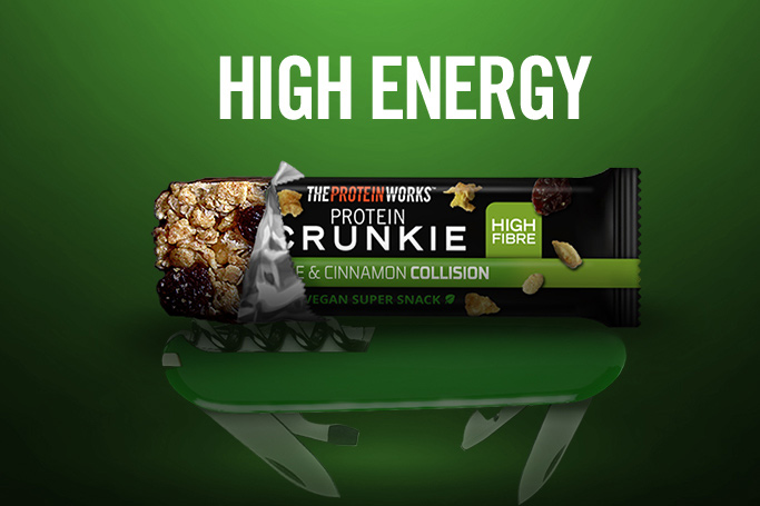 NEW PROTEIN CRUNKIES
