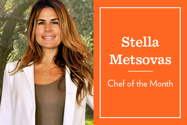 OUR CHEF OF THE MONTH: STELLA METSOVAS STELLA15 for 15% OFF HER MEAL KITS