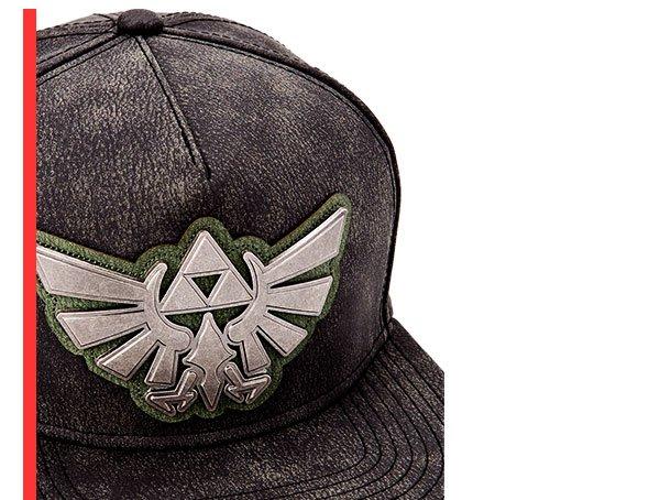 Shop Zelda Distressed Snapback Hat