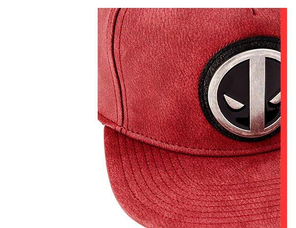 Shop Deadpool Distressed Snapback Hat