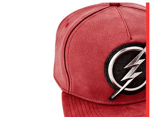 Shop Flash Distressed Snapback Hat