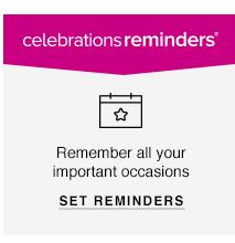 Celebrations Reminders