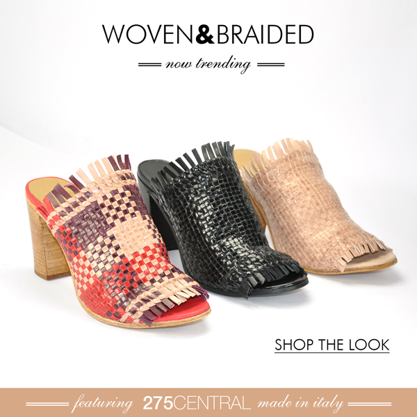 Woven Styling at Footnotesonline