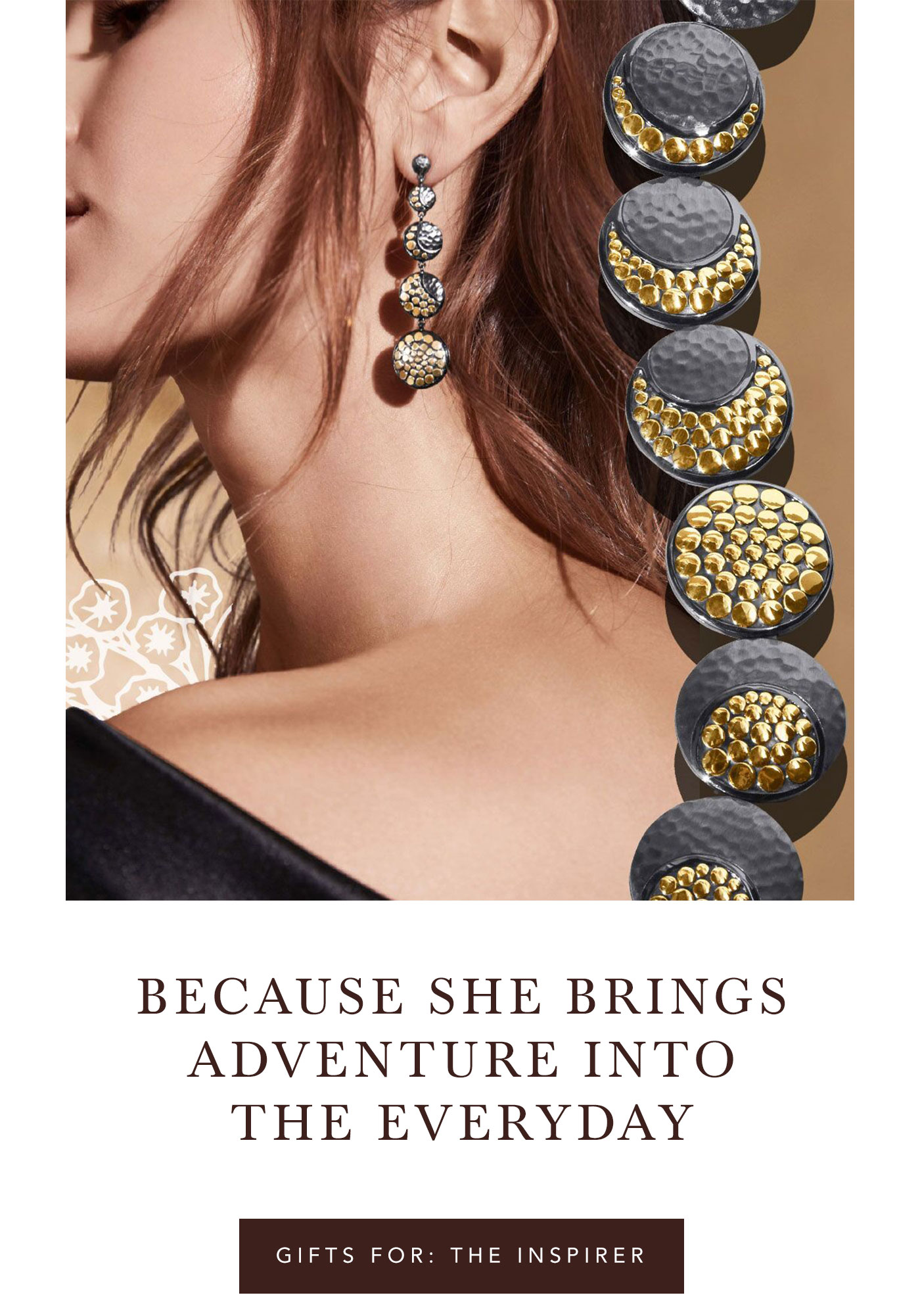 Because She Brings Adventure Into The Everyday | Gifts For: The Inspirer
