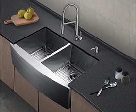 """33"""" Stainless Steel Sink"""