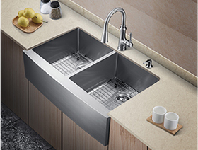"""36"""" Stainless Steel Sink"""