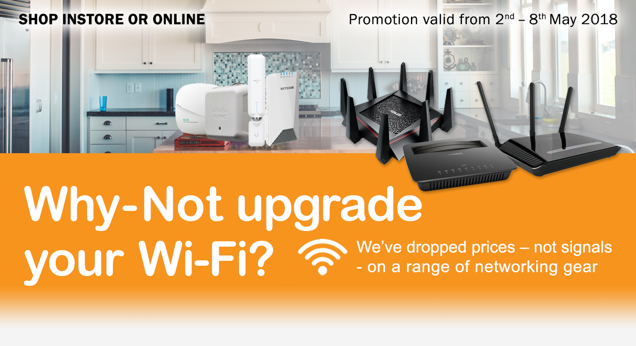 Why-not upgrade your Wi-Fi connection?