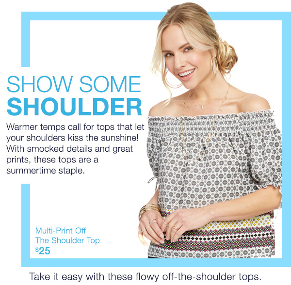 Show Some Shoulder