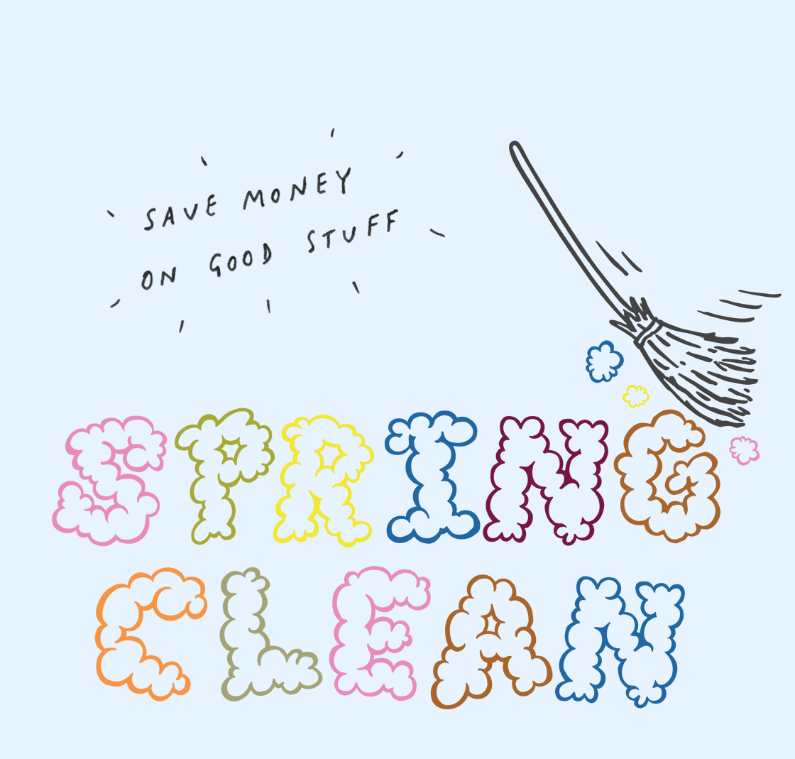 SPRING CLEAN PRICE-HACK CLEAR-OUT BONANZA