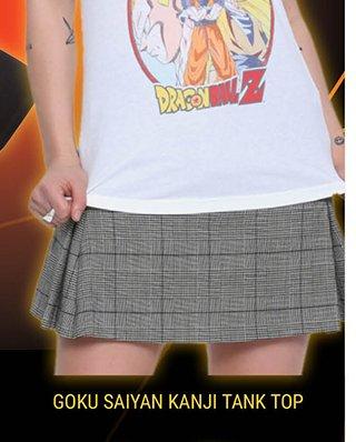 Goku Saiyan Kanji Tank Top