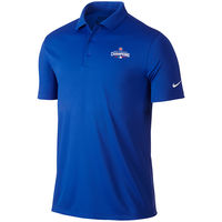 Nike Golf Chicago Cubs Royal 2016 World Series Champions Victory Performance Polo