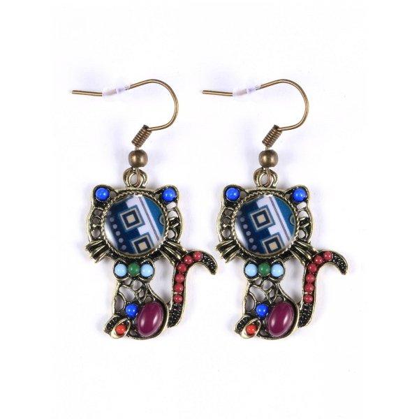 New Women Fashion Earrings Jewelry Trendy Hollow Out Earrings Charm Wedding Gift