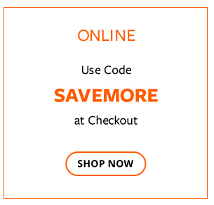 Use code SAVEMORE online