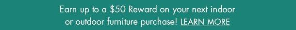 Furniture Rewards banner