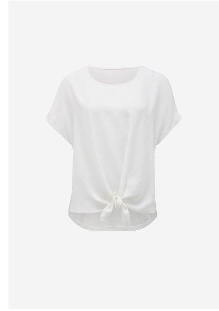 Tara Tie Front Essential T-Shirt