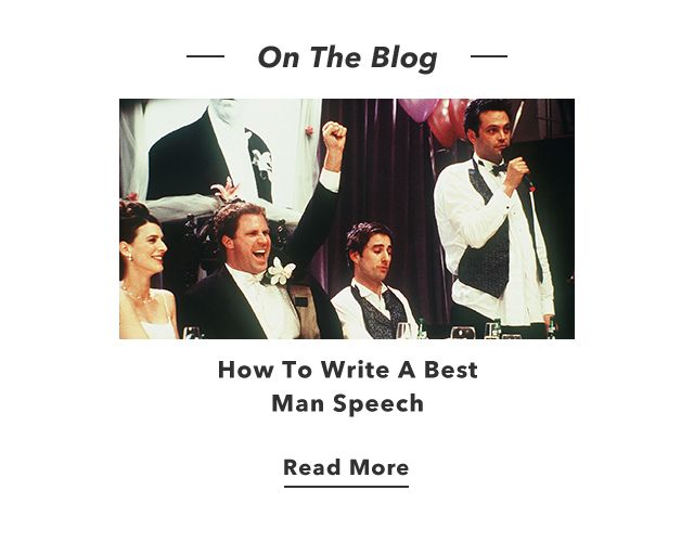 How To Write A Best Man Speech - Read More