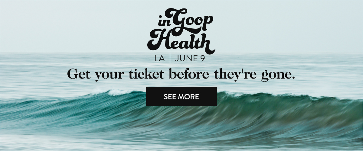 In goop Health, LA 2018
