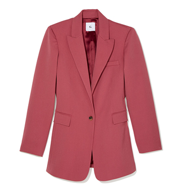G. Label Keating Single-Button Blazer $595