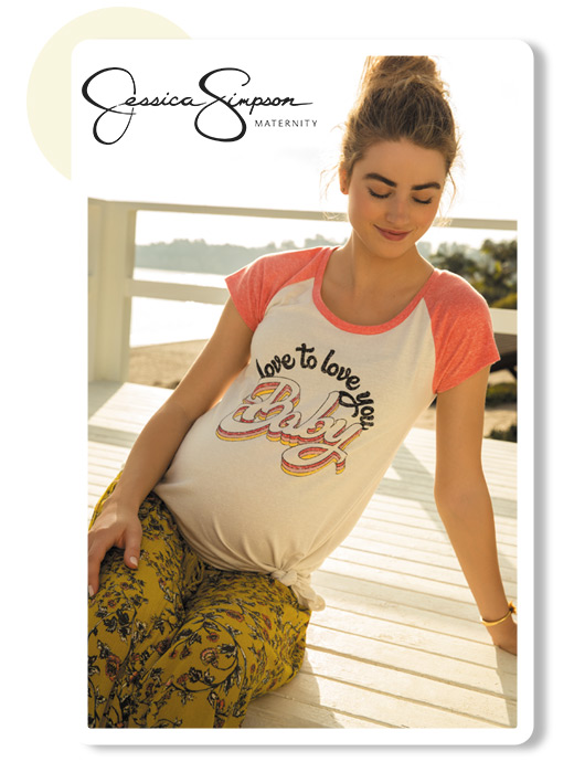 Love To Love This Look: It's new and just for you. Jessica Simpson Maternity - Shop the Collection