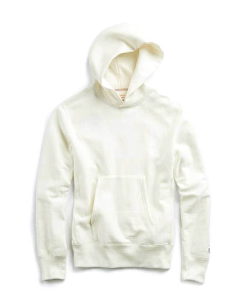 POPOVER HOODIE IN WHITE