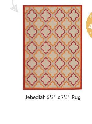 "Jebediah 5'3"" x 7'5"" Rug"