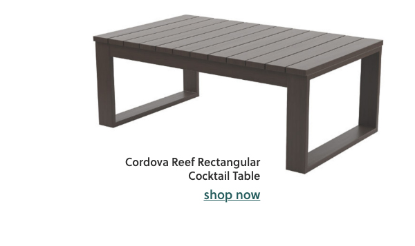 Cordova Reef Rectangular Cocktail Table