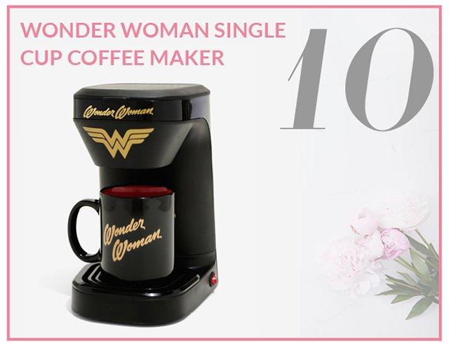 Wonder Woman Single Cup Coffee Maker