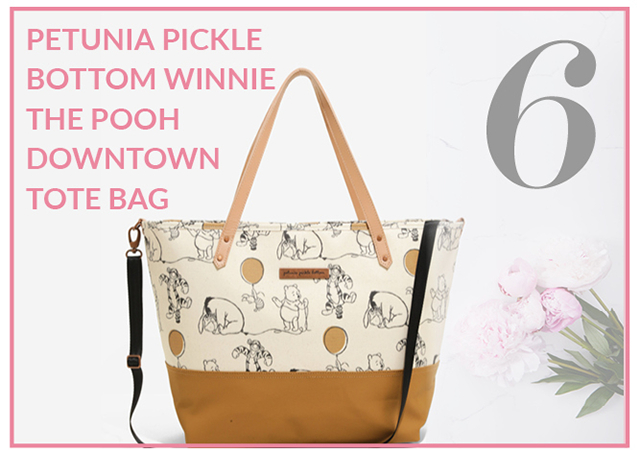 Winnie the Pooh Downtown Tote Bag