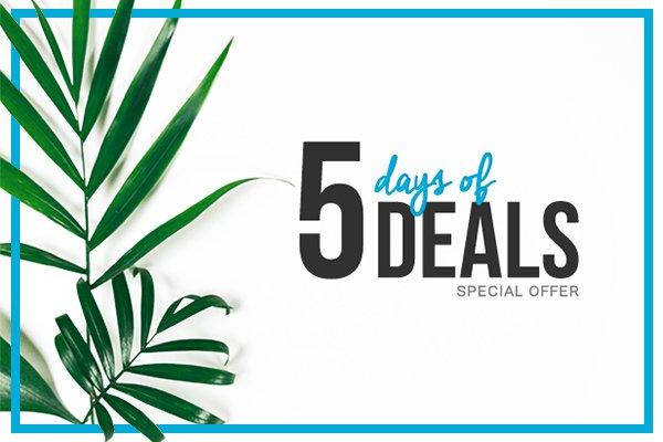 5 days of deals