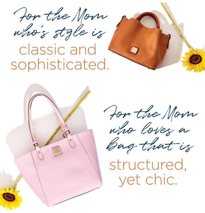 for the Mom who's style is classic and sophisticated. for the Mom who loves a Bag that is structured, yet chic.