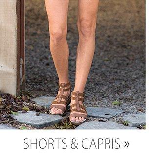 SHOP SHORTS & CAPRIS.