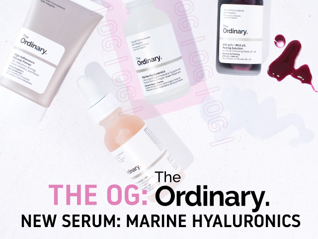 THE OG: The Ordinary Marine Hyaluronics