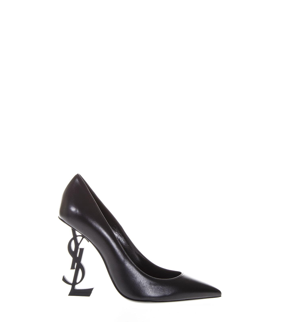 Saint Laurent Opium Black Iconic Heel Pumps