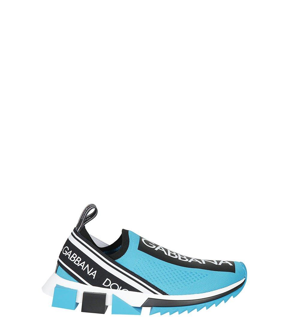Dolce & Gabbana Logo Neoprene Sneakers