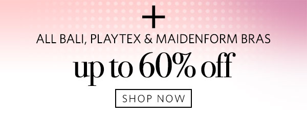 Shop Sale on Bali, Maidenform & Playtex Bras - Turn on your images