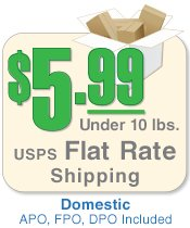Flat Rate Shipping within US
