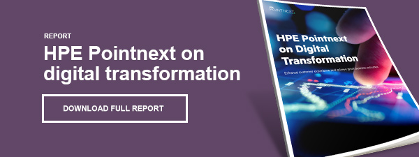 HPE Pointnext on digital transformation