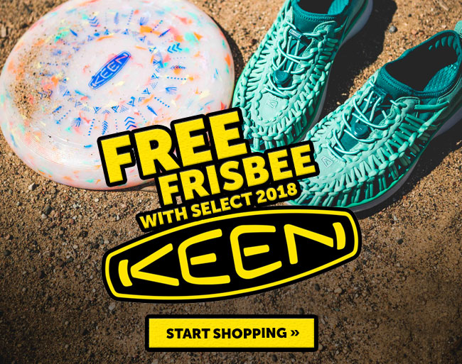 Free Frisbee With Select 2018 Keen