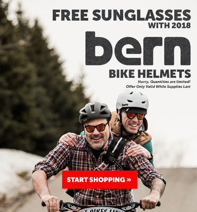 Free Sunglasses With Bern Helmets