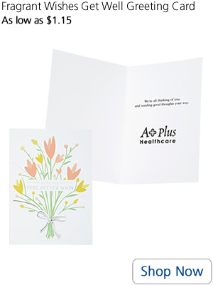 Fragrant Wishes Get Well Greeting Card
