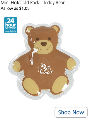 Mini Hot/Cold Pack - Teddy Bear