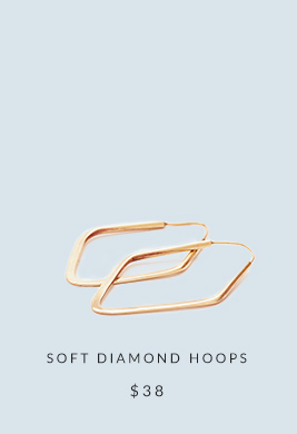 Shop Soft Diamond Hoops