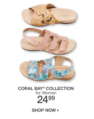 Shop 24.99 Coral Bay Collection Shoes