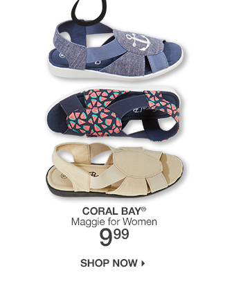 Shop 9.99 Coral Bay Maggie Shoes