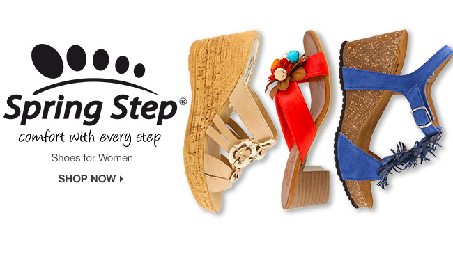 Shop Spring Step Shoes for Women