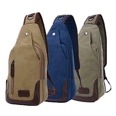 Canvas Shoulder Sling Bag - 5 Styles
