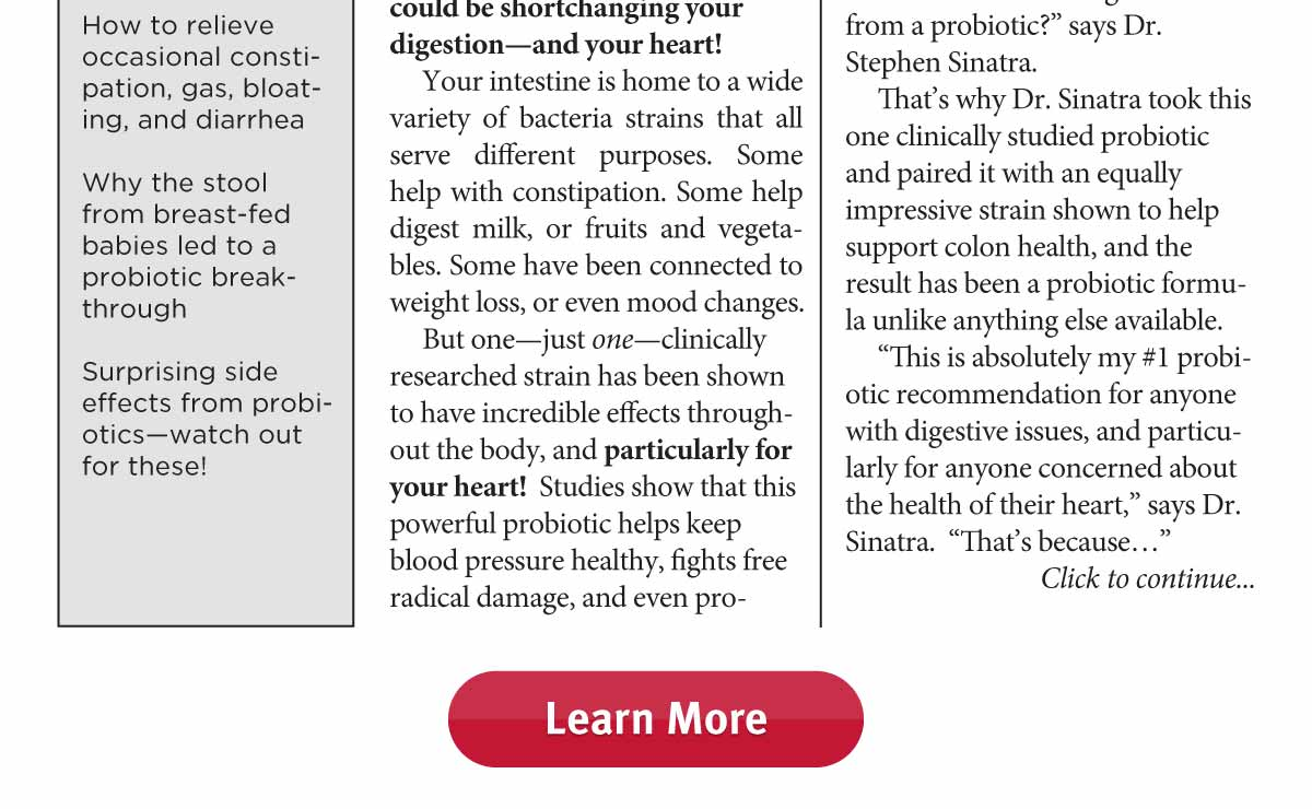 Heart Healthy Probiotic Solutions EXTRA