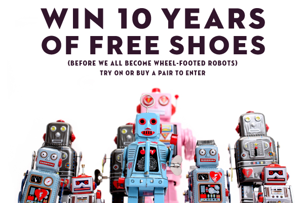 Win 10 Years of Free Shoes