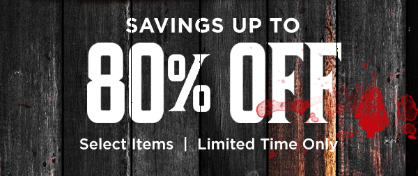 Save up to 80% off